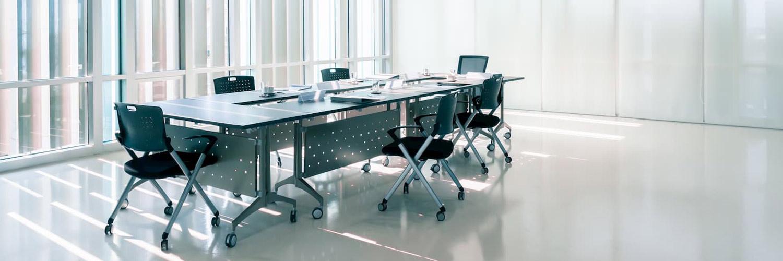 En un ambiente agradable y limpio se trabaja cómodo.